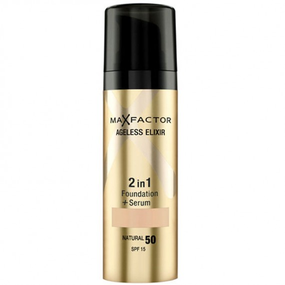 Max Factor Ageless Elixir 2in1 Foundation + Serum-woman and home-beauty
