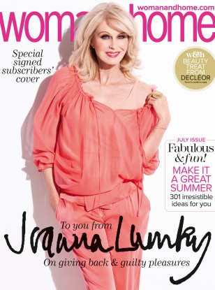 Joanna Lumley interview for woman&home