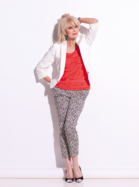 Joanna Lumley-joanna lumley cover star-cover story-july 2012 issue-woman and home