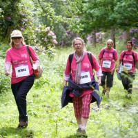 Cholmondeley Castle Pink Ribbonwalk 2012