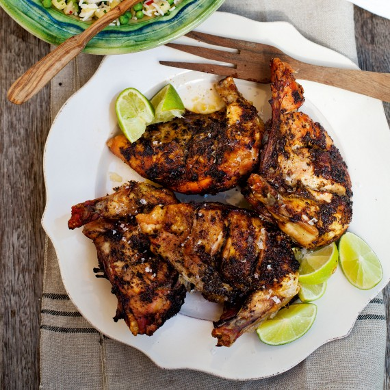 Spicy Jamaican Jerk Chicken and Rice - Woman And Home