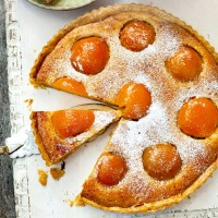 Peach and frangipane tart recipe