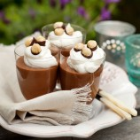 Espresso mousse with Frangelico cream