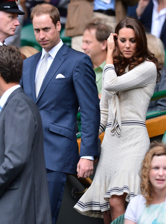 Kate Middleton Prince William-Wimbledon-Celebrity-Events-Woman and Home