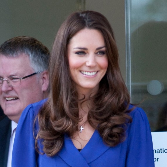 Kate Middleton Centre Parting Hairstyle-Kate Middleton Hair-Kate Middleton Best Hairstyles-Duchess of Cambridge-Celebrity Hairstyles-Woman and Home