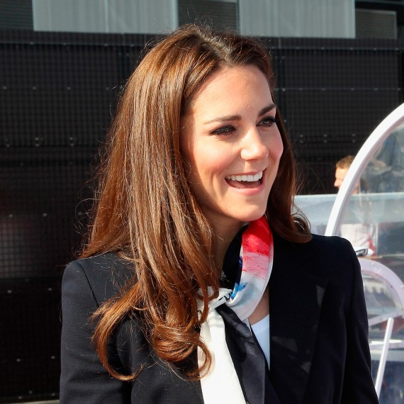 Kate Middleton Relaxed Blow Dry Hairstyle - Kate Middleton Hair