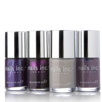 Nails Inc 4 Piece Purple Passion Collection