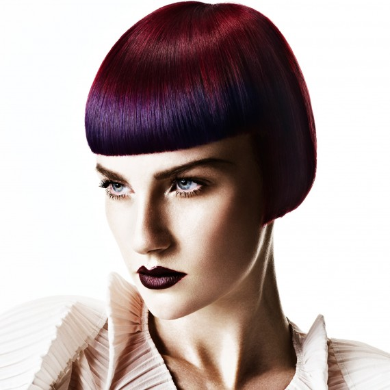 Deep red and purple hair colour - hair colour ideas - Woman And Home