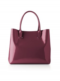 LK Bennett Crocus Patent Shoulder Bag