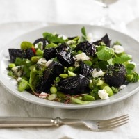 Beetroot and Broad Bean Salad