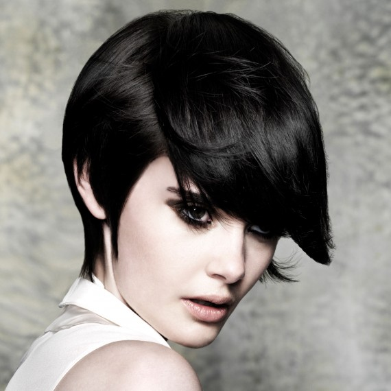 Black bob hairstyle-hair-hairstyles-autumn winter hairstyles-beauty-woman and home