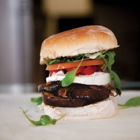Aubergine burgers recipe