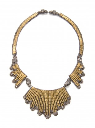 Suzanna Dai Casablanca Wing Necklace