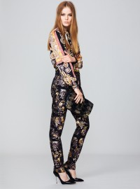 Biba at House Of Fraser Leopard Foil Print Jeans