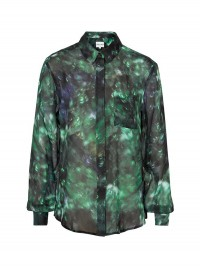Reiss Josh Printed Oversized Shirt