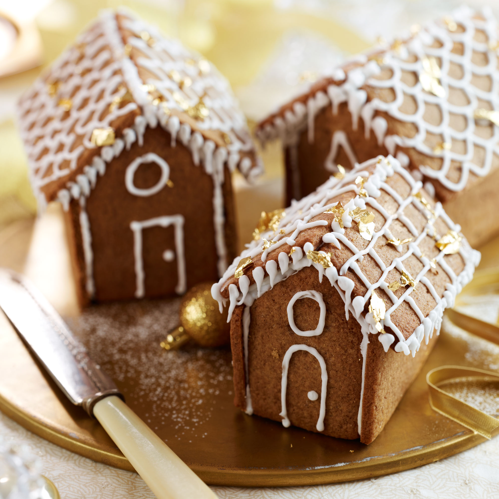 Mini Gingerbread Houses - Woman And Home