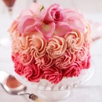 Rose petal cake recipe
