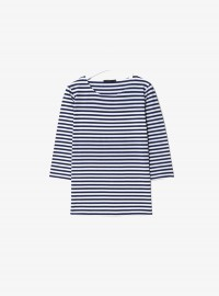 Cos 3/4 Sleeved Breton Top