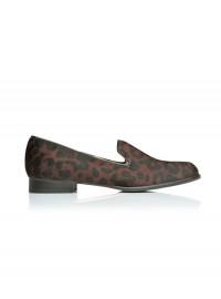 LK Bennett Melissa Shoe in Damson Leopard
