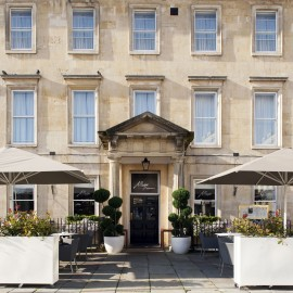 Bath hotel-travel-woman and home