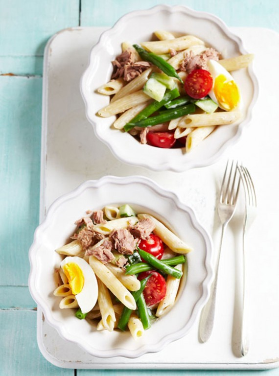 French-tuna-nicoise-pasta-salad-recipe-photo
