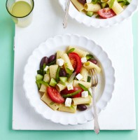 Greek goodness pasta salad recipe