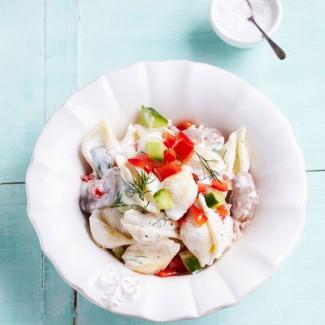 Swedish Surprise Pasta Salad