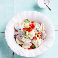 Swedish surprise pasta salad recipe