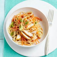 Indonesian chicken pasta salad recipe