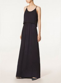 Massimo Dutti Long Black Dress