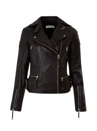 Whistles Marlon Quilted Leather Jacket