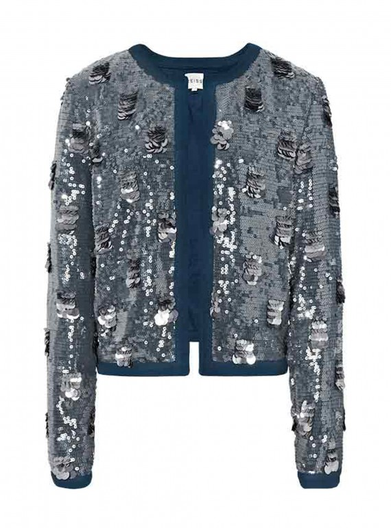 Reiss Shelby Sequin Jacket photo