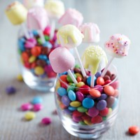 Birthday marshmallow pops recipe