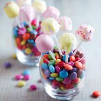Birthday marshmallow pops recipe