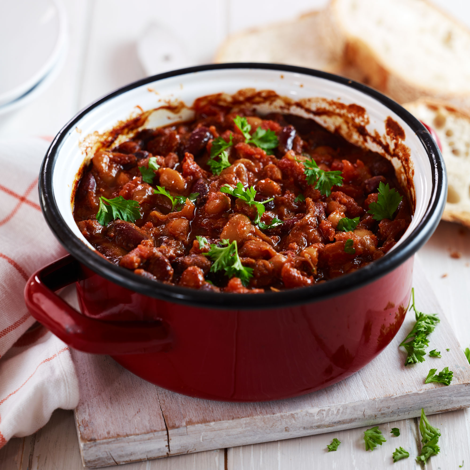 Slow Cooked Boston Baked Beans
