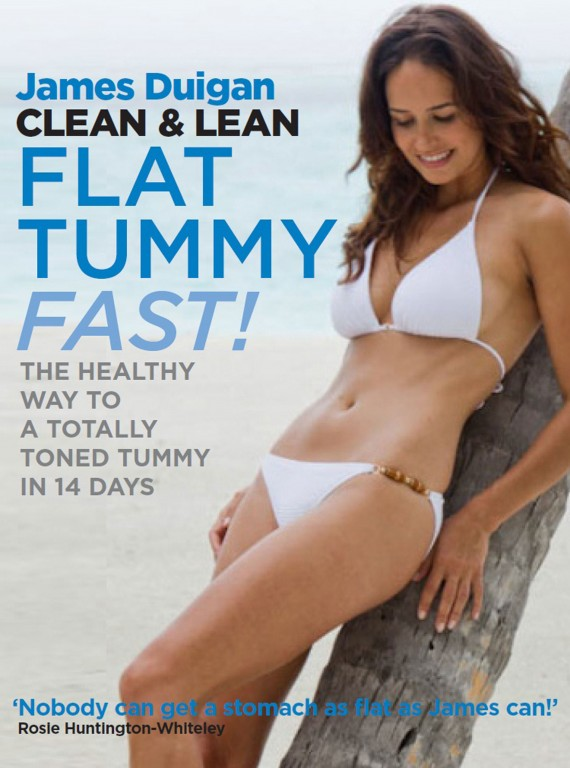 Clean And Lean Diet Flat Tummy Fast book jacket photo