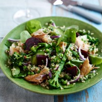 Mackerel superfood salad recipe