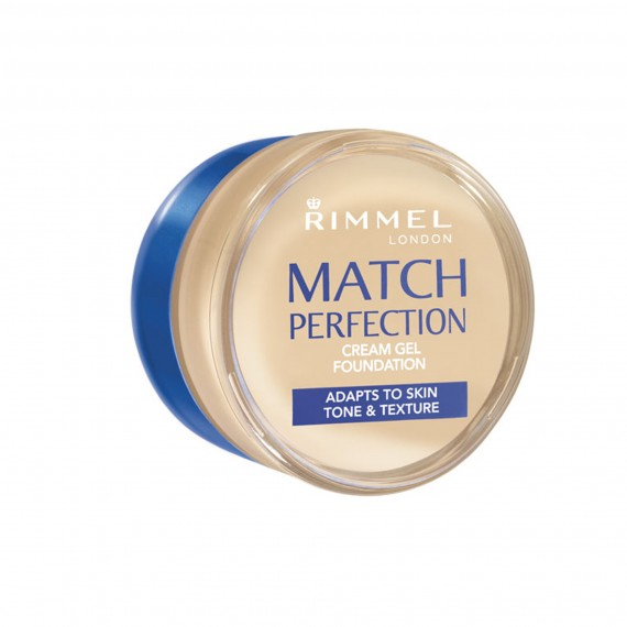 Bottle of rimmel cream gel foundation