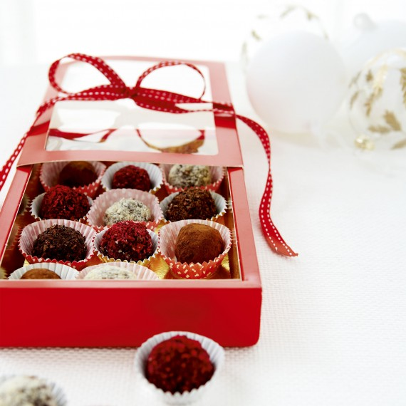 Homemade Gifts Truffles