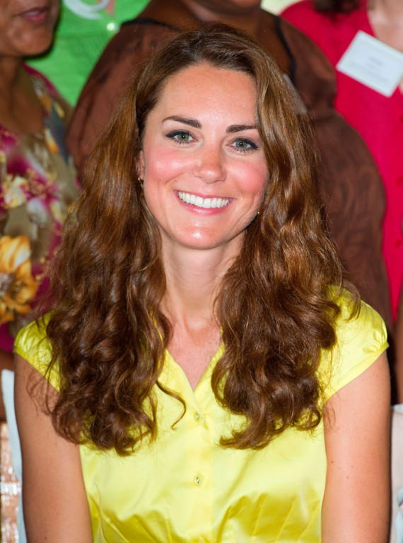kate middleton with curly hair � curltalk