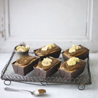 Toffee And Banana Mini Loaf Cakes