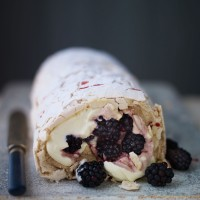 Blackberry Roulade