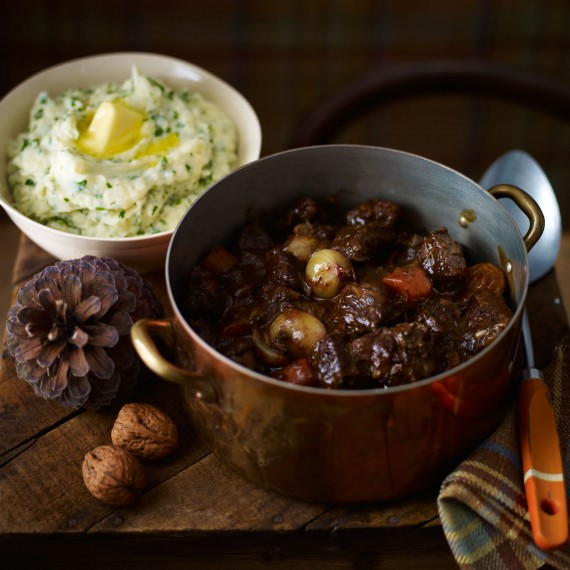 Beef Casserole-comfort food-woman and home