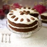Espresso and pecan cake