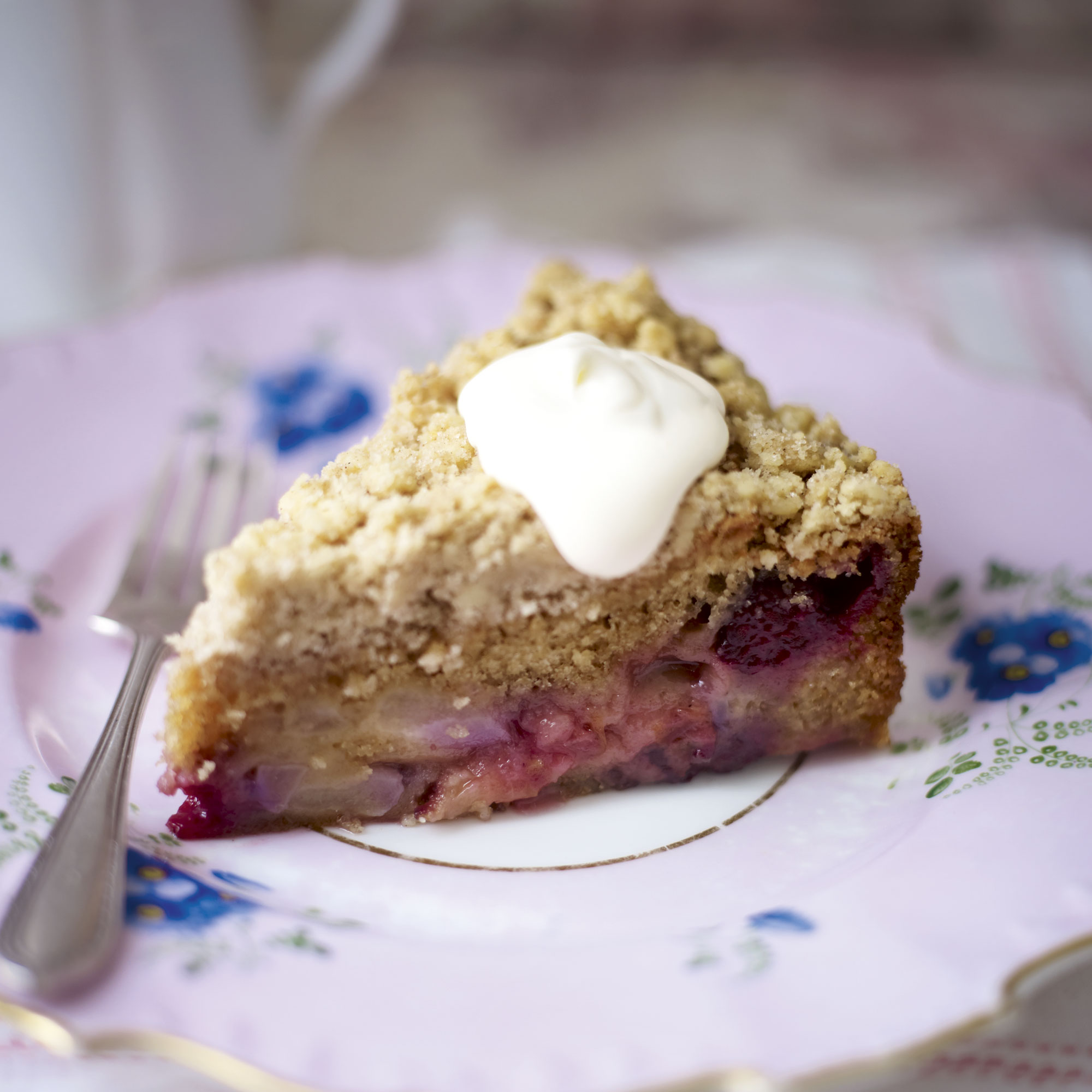 streusel gooseberry crumble gooseberry crumble cake cake crumbs and ...