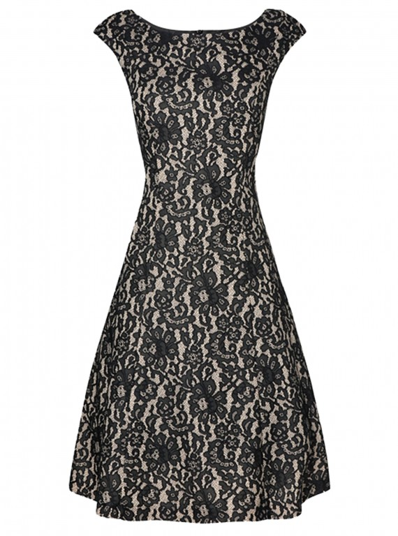 Phase Eight Lace Fit And Flare Dress