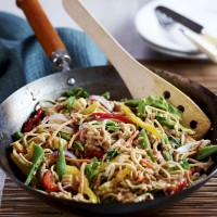 Satay Vegetable Stir-Fry