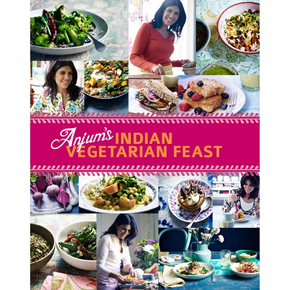 Indian recipes from Anjum Anand Indian Vegetarian Feast book
