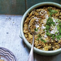 Spiced Aubergine and Tamarind Rice