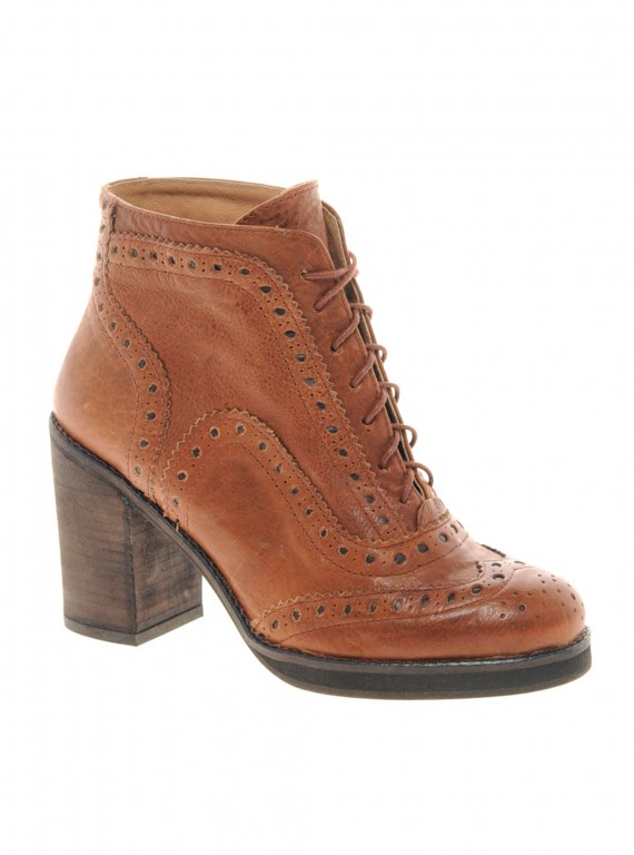 River Island Brogue Ankle Boots